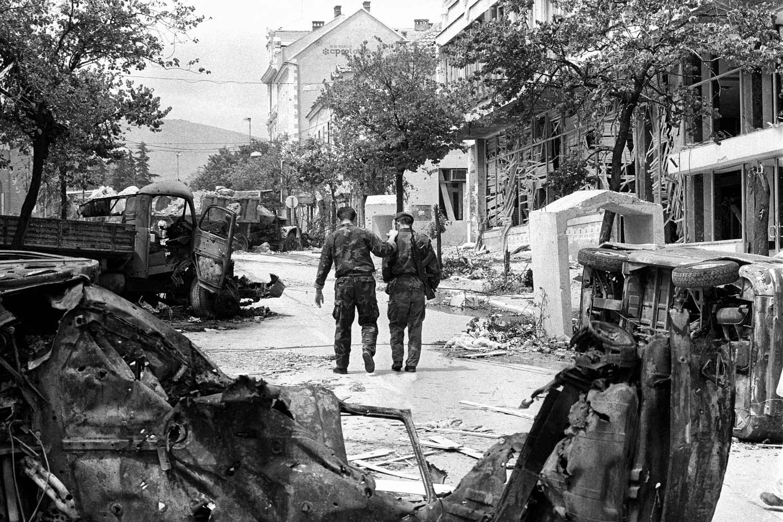 Krieg in Mostar